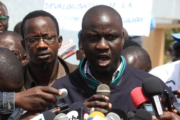 Abdoulaye Ndoye, Secrétaire Général du Cusems: « au nom de la dignité citoyenne et politique, Serigne Mbaye Thiam doit rendre le tablier »
