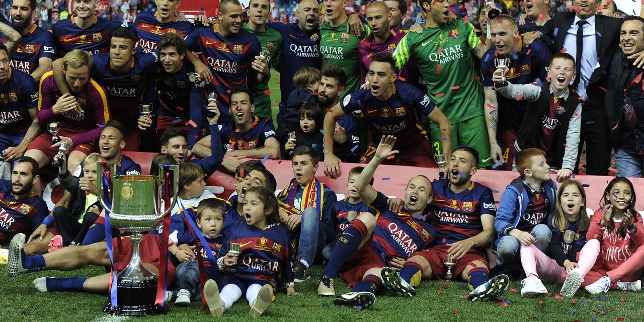 Coupe du Roi: 4e sacre de suite pour le Barça