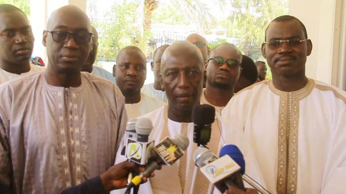 """Cheikh Mbacké Sakho à Touba: """"J'étais venu dire au Khalife comment avec le parrainage, le Sénégal va économiser des milliards de francs """""""