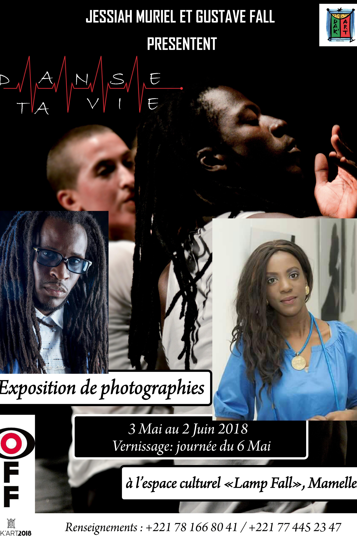 Dak'Art 2018 : Exposition photographiques « OFF » : L'énigmatique artiste photographe et réalisateur, Gustave Fall et Jessiah Muriel présentent « Danse ta vie »