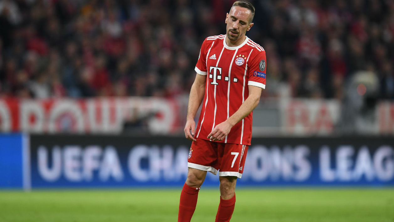Le Bayern Munich interdit à Ribéry de faire sa célébration de but
