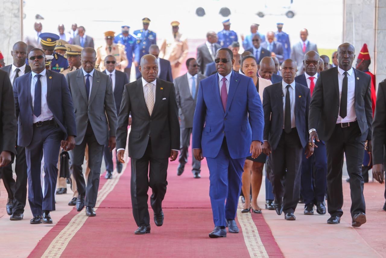 José Màrio Vaz, Président de la République de Guinée-Bissau, a effectué ce 24 avril 2018, une visite d'amitié au Sénégal