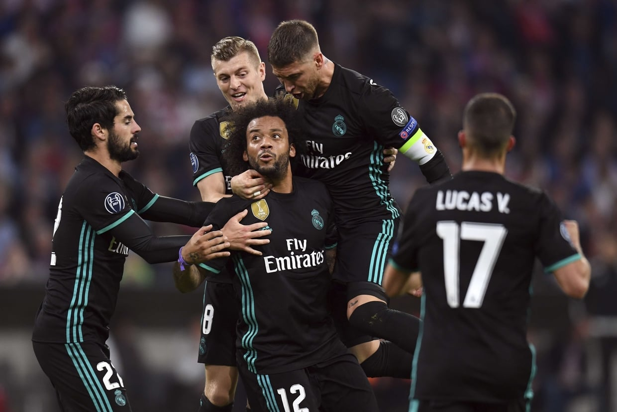 Photos Ligue des champions : Bayern Munich 1- 2 Real Madrid