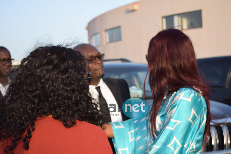 Mamadou Kassé en toute complicité avec Zahra Iyane Thiam