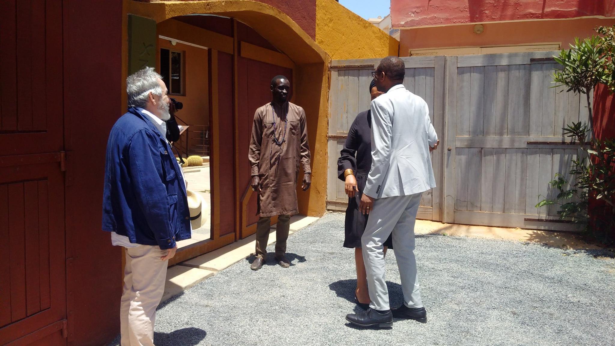 Inauguration de la Maison Ousmane Sow: Youssou Ndour a visité la Maison Ousmane Sow