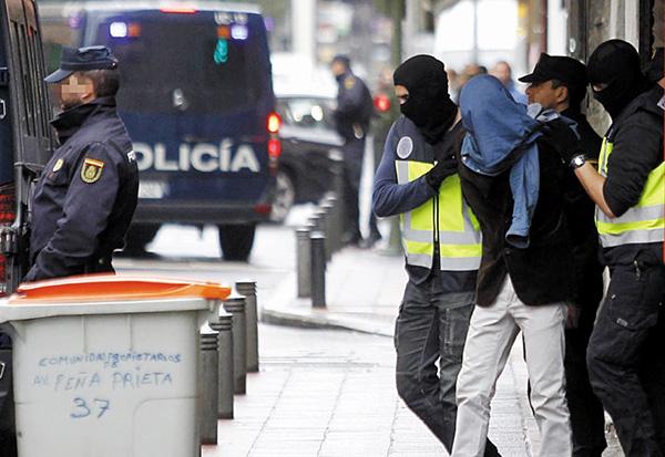 Espagne: Un Sénégalais membre d'une cellule terroriste arrêté à Bilbao, des armes de guerre saisies