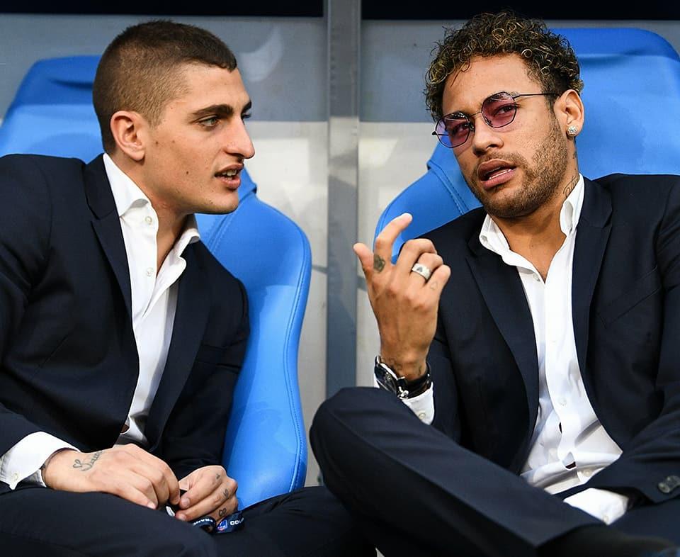 PHOTOS - Neymar était présent au Stade de France lors de la finale de la Coupe de France entre le PSG vs Les Herbiers