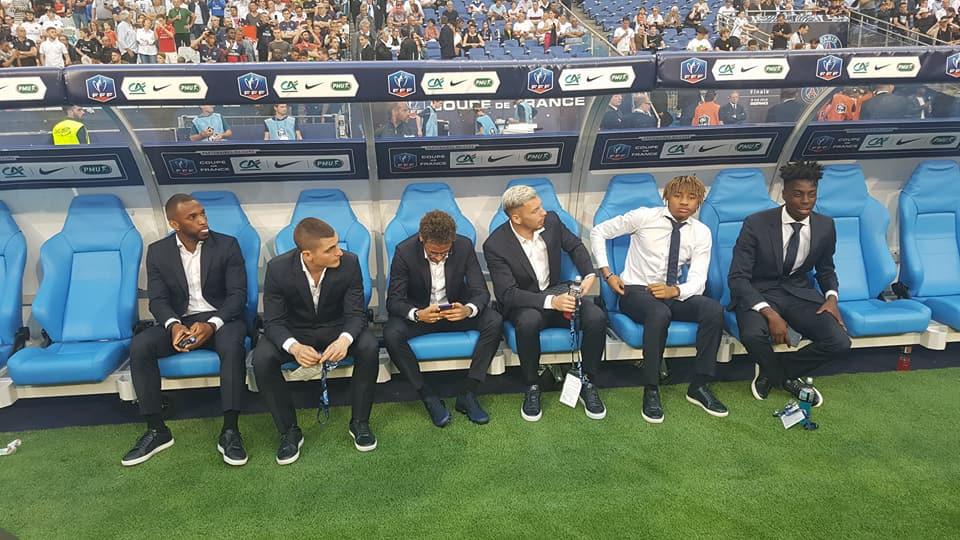 Neymar était présent au Stade de France lors de la finale de la coupe de France entre le PSG vs Les Herbiers