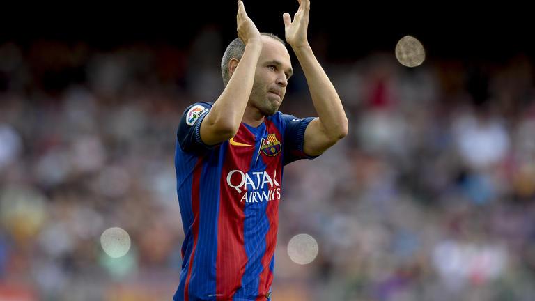 Iniesta : « Jouer au Barça a été un Cadeau »