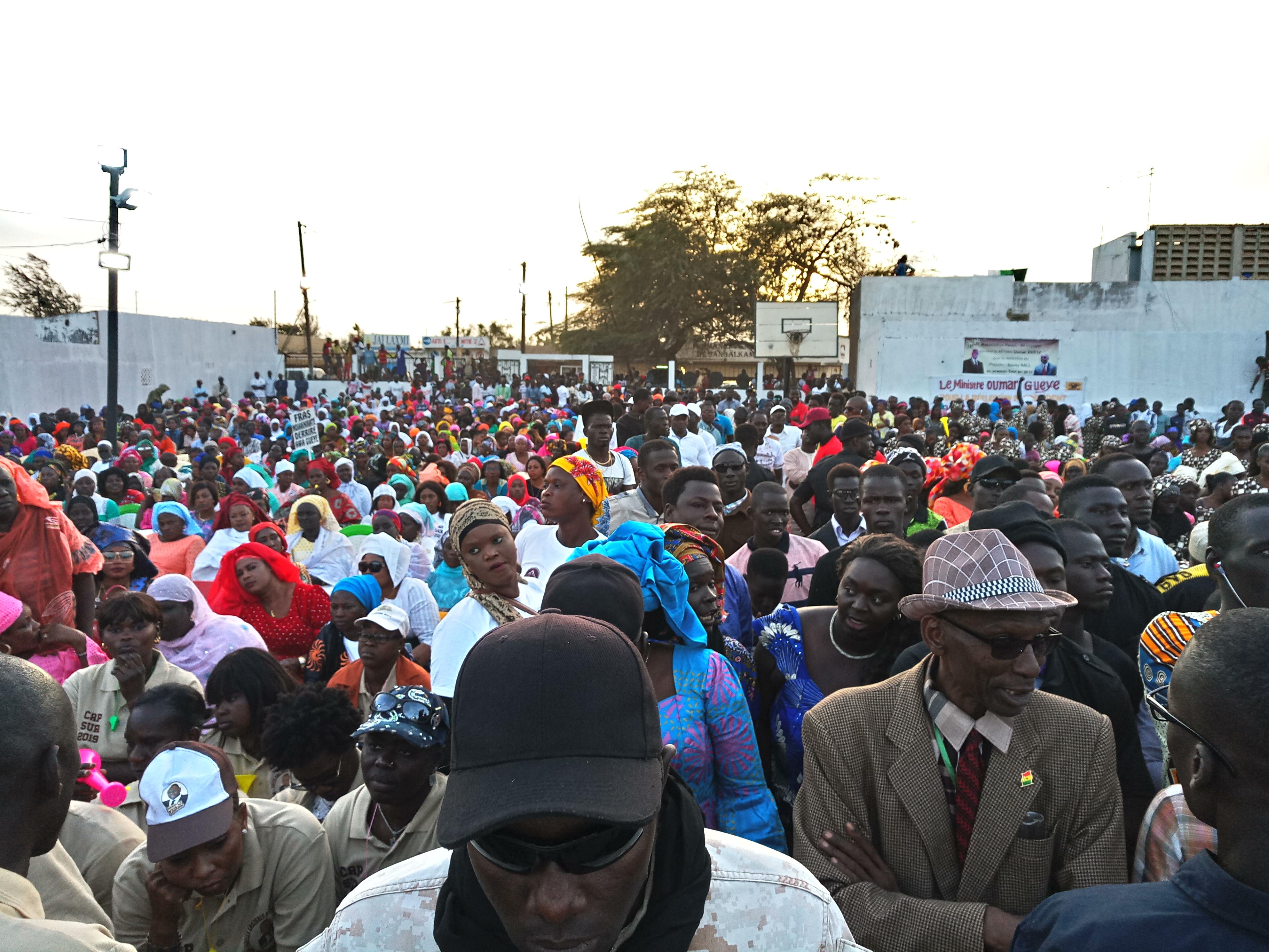Assemblée générale à Rufisque  : Oumar Guèye mobilise tous les responsables de l'APR pour la réélection de Macky Sall au premier tour