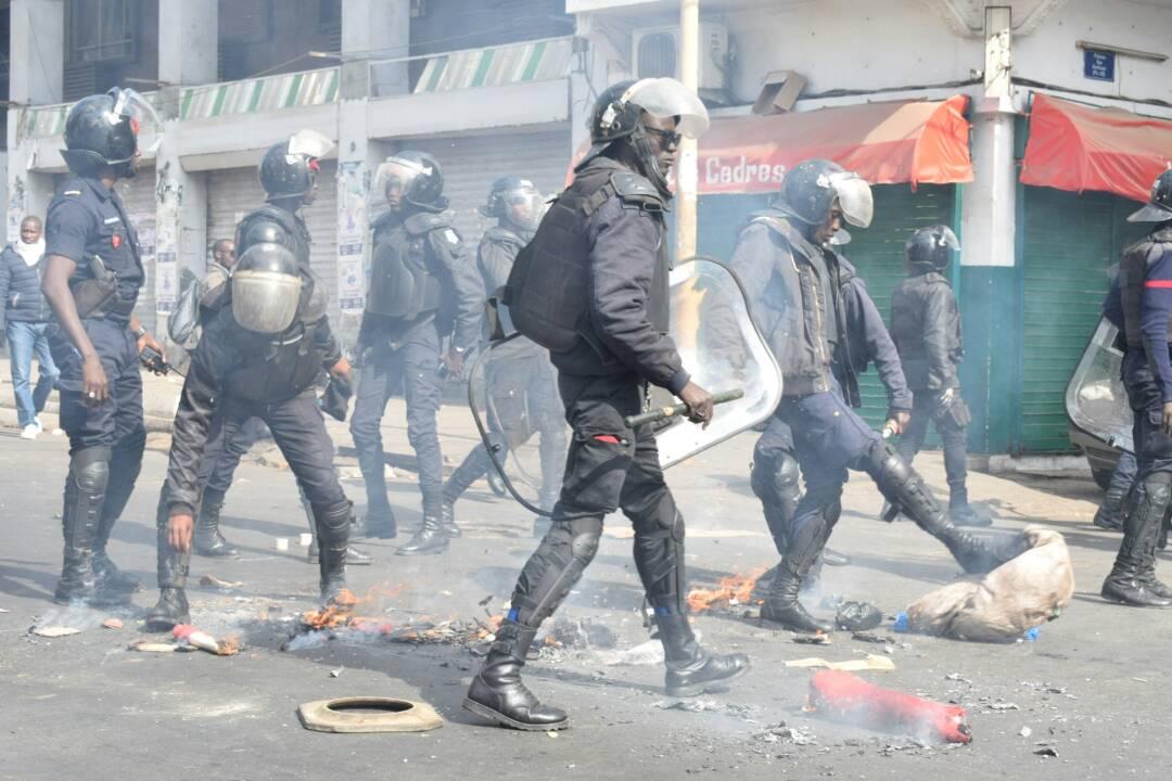 Echauffourées de Saint-Louis : 18  blessés dénombrés du côté des forces de sécurité