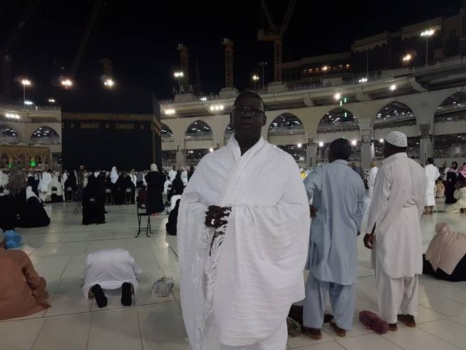 Le président Mbagnick Diop du MEDS fait son show à la Mecque.