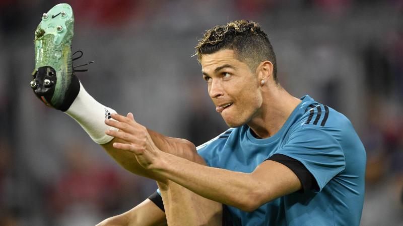 Ronaldo s'entraîne