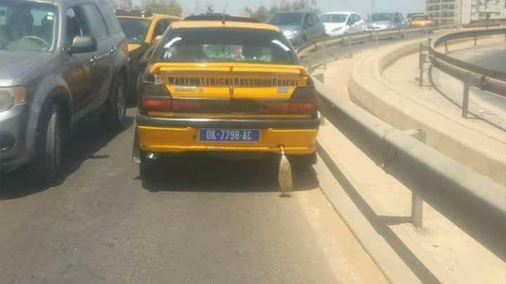 Ce taximan a payé fort son indiscipline !