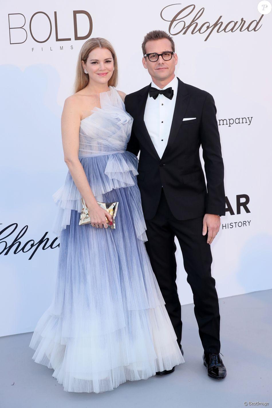 Gabriel Macht (Suits) à Cannes avant le mariage royal de Meghan Markle