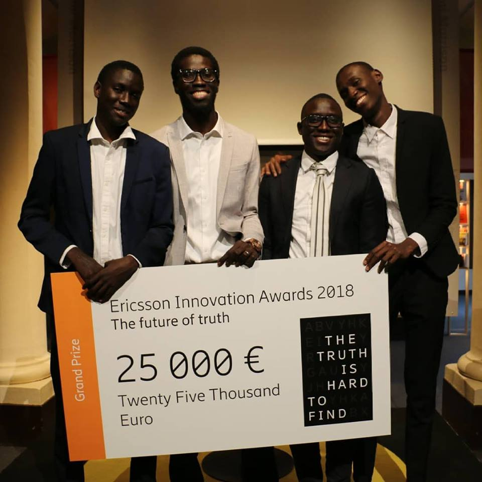 ericsson innovation awards 2018 le s n gal avec la startup ownlabs remporte le 1er prix. Black Bedroom Furniture Sets. Home Design Ideas