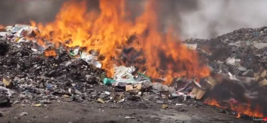 Saint-Louis: Incinération de produits contrefaits et de la drogue d'une valeur de 1,9 milliard de nos francs