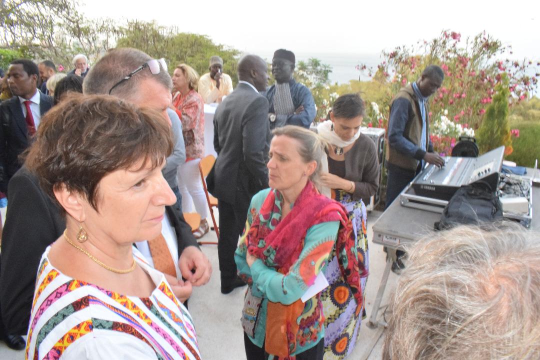 17 Photos : Ndogou à la Résidence de France avec Christophe Bigot, l'Ambassadeur de France au Sénégal