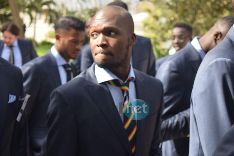 Photos : Remise solennelle du drapeau national aux « Lions de la Téranga » pour le Mondial 2018