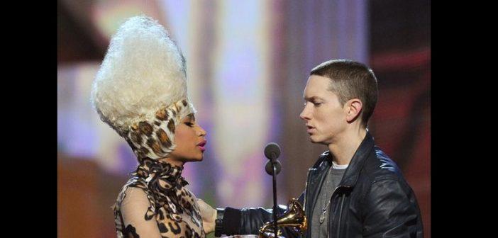People : Nicki Minaj en couple avec Enimem ? La chanteuse réagit (Vidéo)