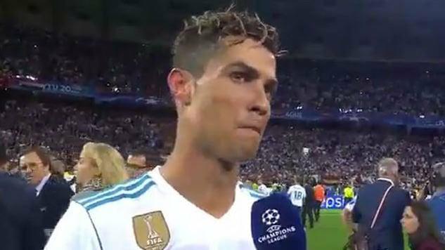 """""""C'était bien de jouer au Real"""", Cristiano Ronaldo sur le départ ?"""