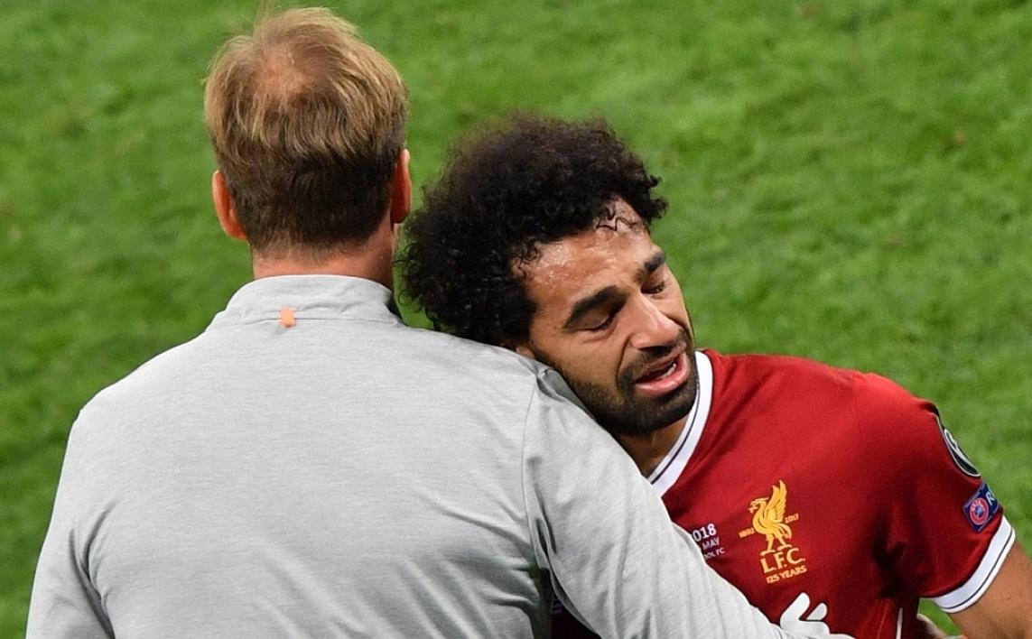 """Inquiétude avant le Mondial, Klopp évoque une """"blessure sérieuse"""" pour Salah"""