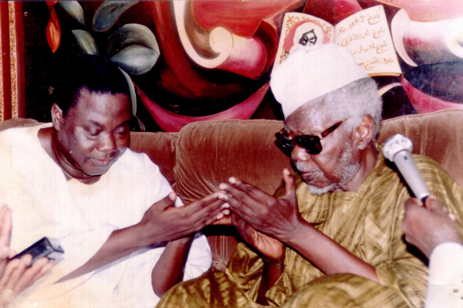 Photos : Serigne Mbacké Sokhna Lô avec Mame Abdoul Aziz Sy Dabakh