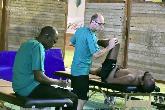 """19 photos : Suivi médical personnalisé des """"Lions"""" avant le Mondial, regardez"""
