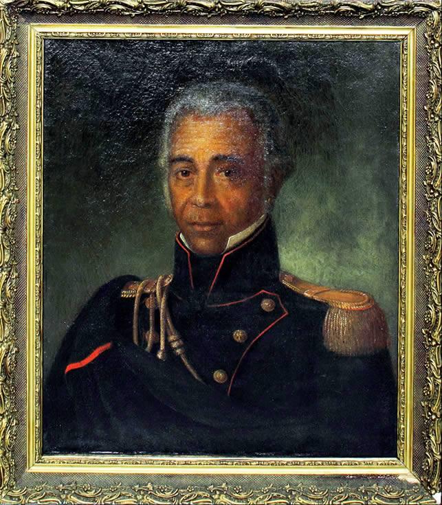 Le Réunionnais Jean-Baptiste Lislet Geoffroy, fils de la princesse Niama du Galam