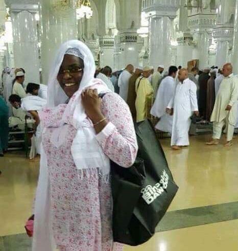 Arrêt sur image: Marieme Faye Sall à la Mecque pour la Oumra