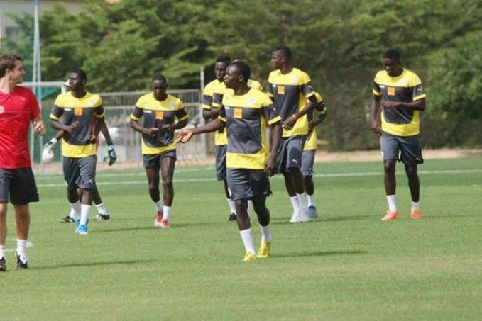 Equipe nationale: Sadio Mané a commencé l'entrainement