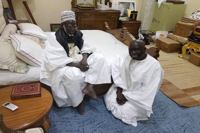 Touba: Idrissa Seck a rencontré Serigne Mountakha Mbacké