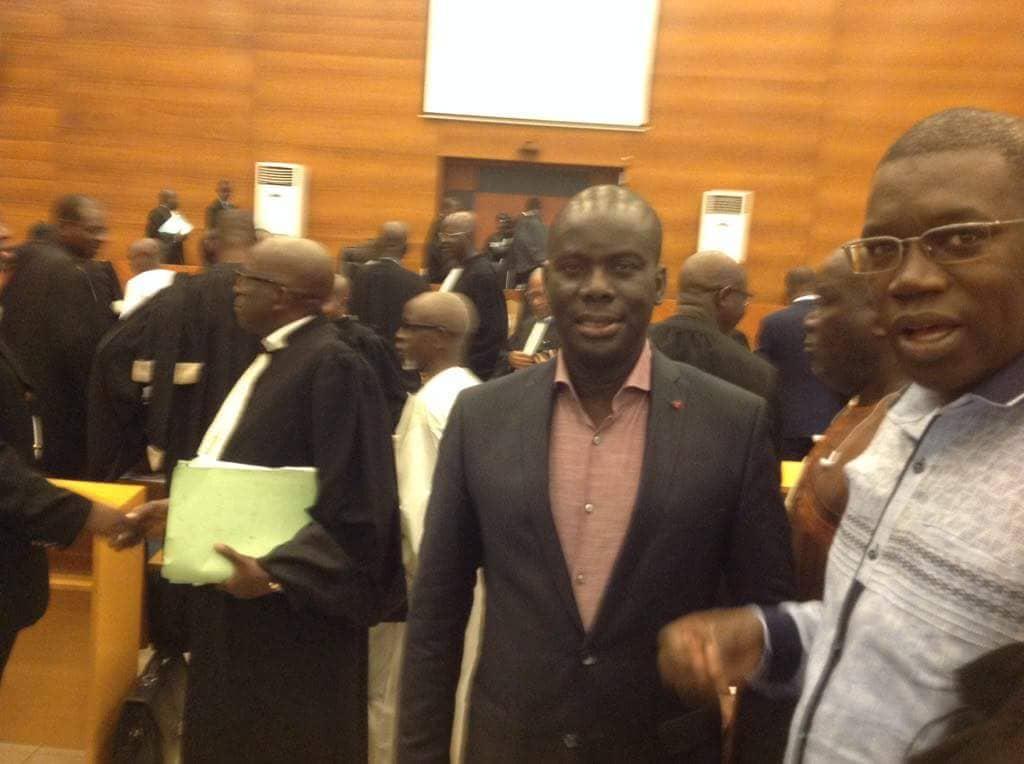 Malick Gakou présent au procès de Khalifa Sall