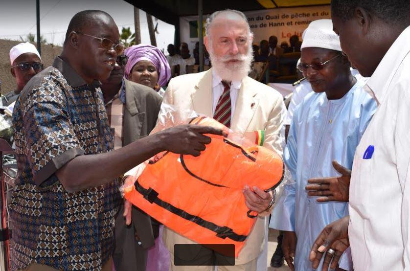 Oumar Guèye inaugure l'extension du quai de pêche de Hann Bel-Air