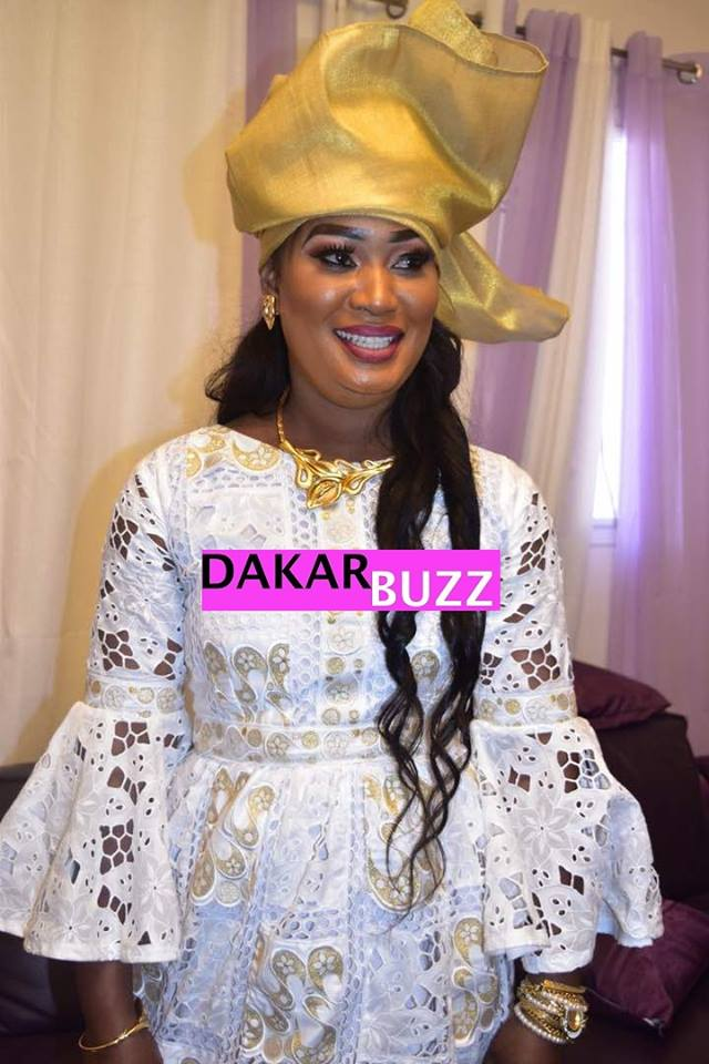 Photos : Mame Bineta, la Awo de Abdou Aziz Ndiaye est une vraie drianké