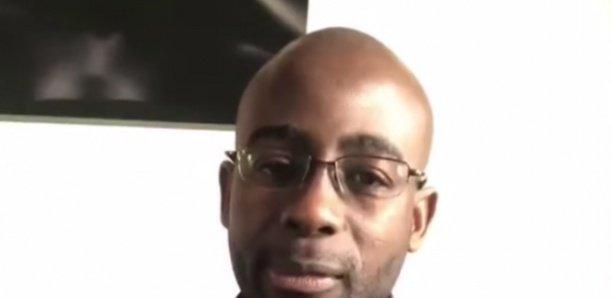 Après l'enregistrement audio, le Capitaine Dièye s'exprime à visage découvert