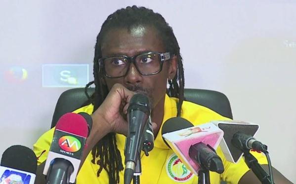 """Aliou Cissé, Coach des Lions : """"L'arbitrage était plus du côté croate que du côté sénégalais"""""""