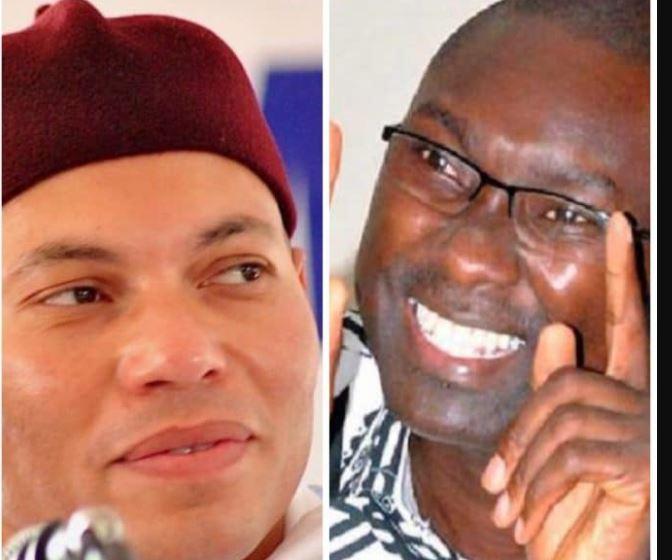 Candidature de Karim Wade: le ministre de la Justice Ismaïla Madior Fall reçoit une volée de bois vert...