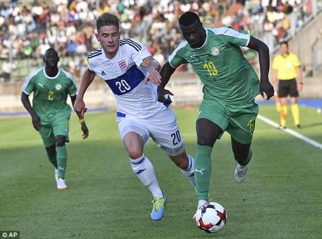 Sénégal-Pologne: Mbaye Niang « Ce serait bien de gagner car cela nous permettrait de…»
