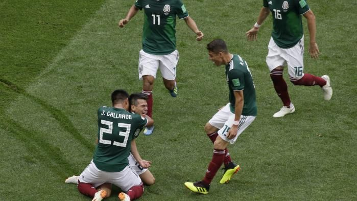 Coupe du monde 2018 : le Mexique terrasse l'Allemagne