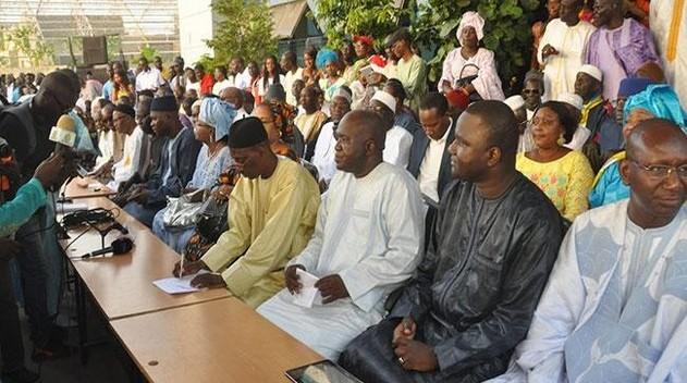 Intégration du parrainage dans le Code électoral: l'opposition annonce une importante déclaration