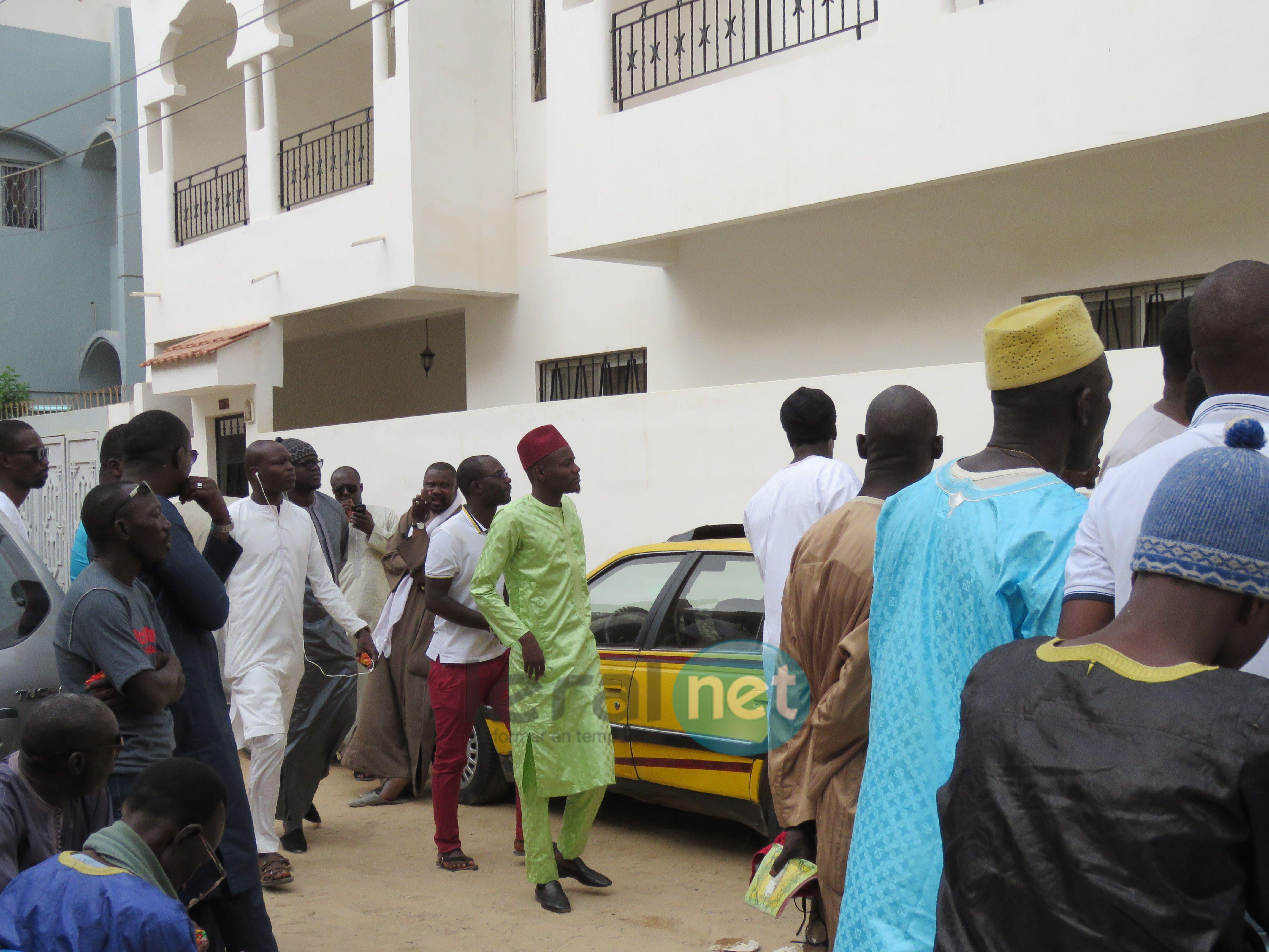 Photos -Chez Thione Seck: Adja Diouf, sœur de Kiné Diouf Diaga, décédée