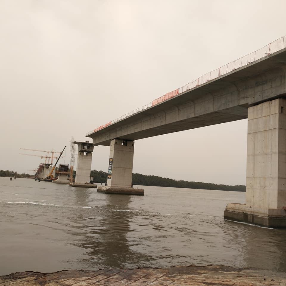 Pont de Farafégny : l'achèvement des travaux prévu 'd'ici fin 2018'