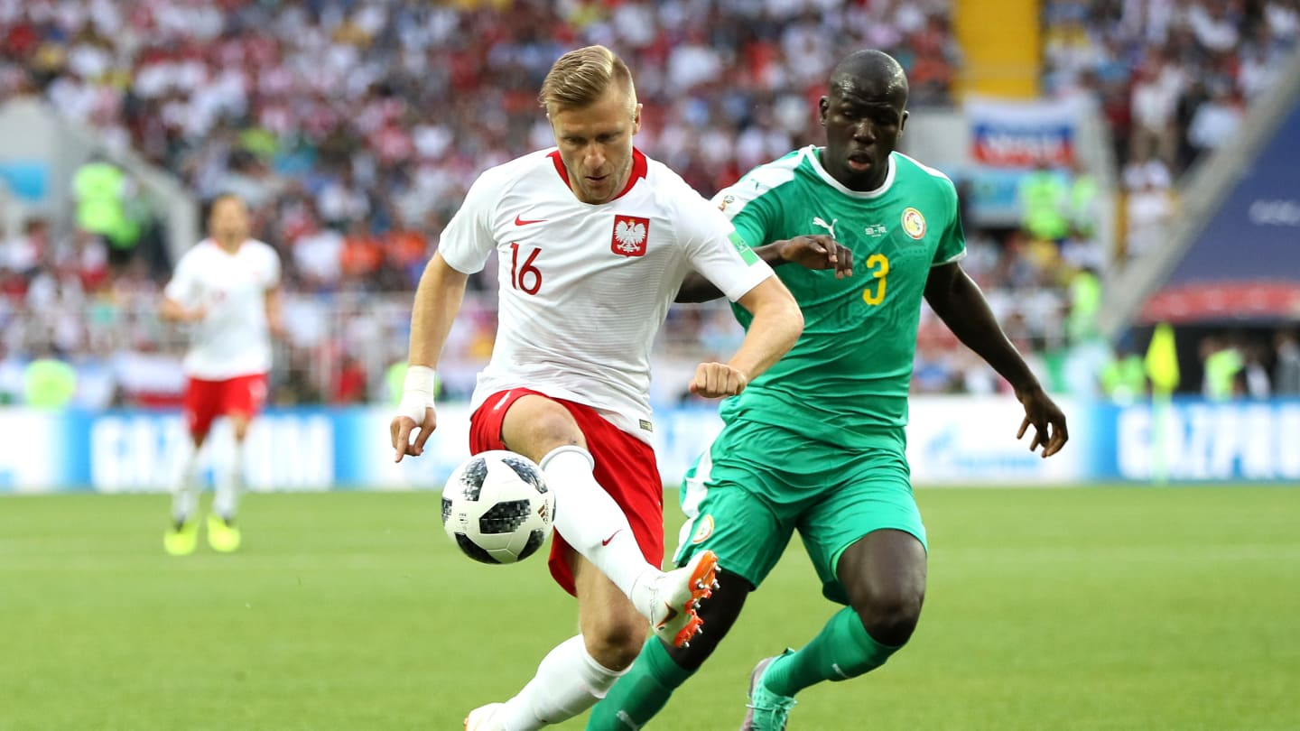 Photos : Kalidou Koulibaly en action Pologne-Sénégal