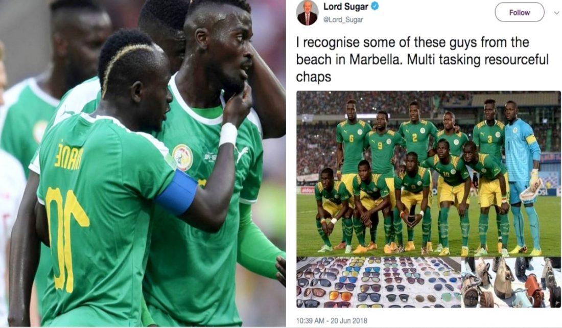 """Tweet raciste contre les """"Lions"""": La réaction de l'ambassadeur de Grande-Bretagne"""