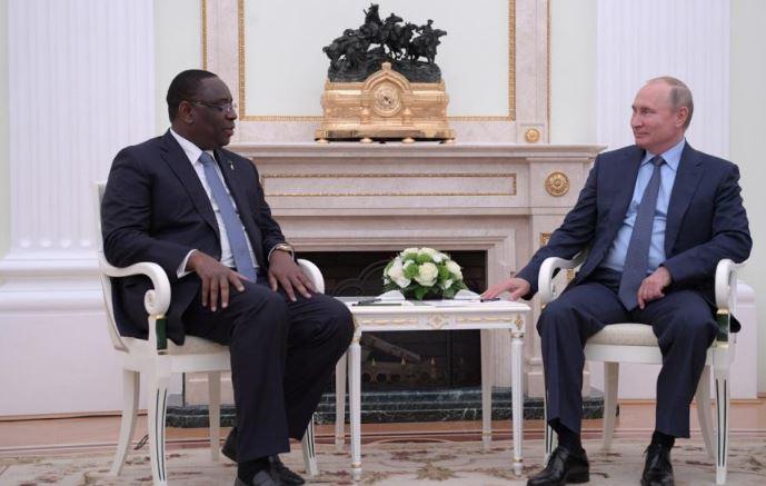 VISITE: Tête-à-tête entre Macky Sall et Vladimir Poutine
