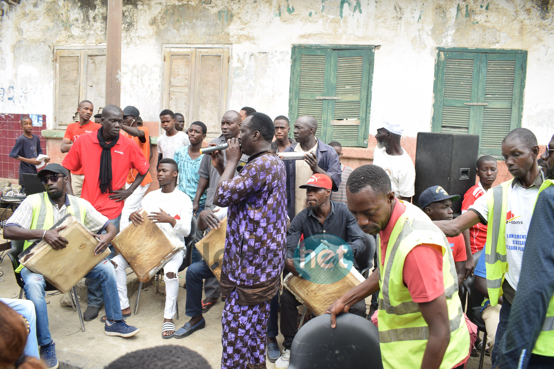 (Photos) Projet d'assainissement des eaux pluviales de la Commune de Dakar-Plateau / Rebeuss