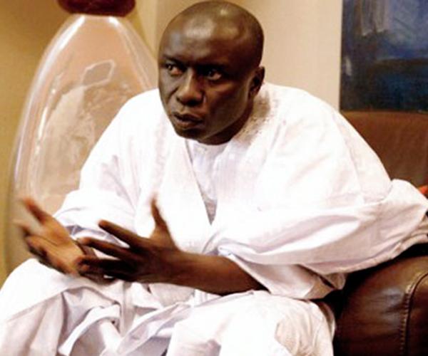 Idrissa Seck, président du parti Rewmi: « tous en maillot avec un lion qui rugit »