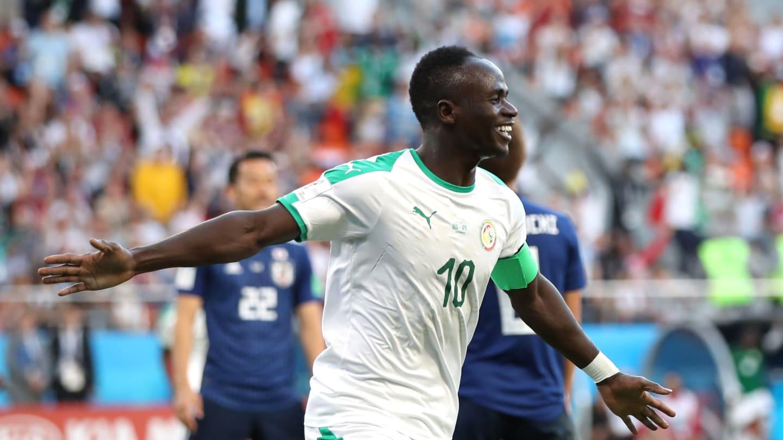 Photos : Premier but de Sadio Mané en Coupe du Monde