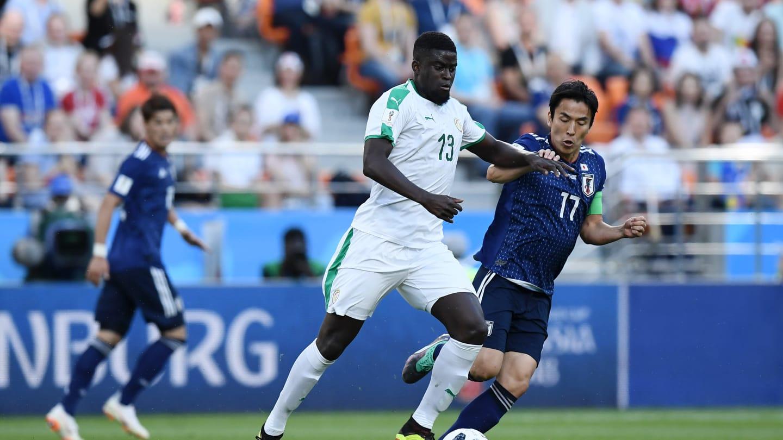 Photos : Alfred Ndiaye face aux Japonnais